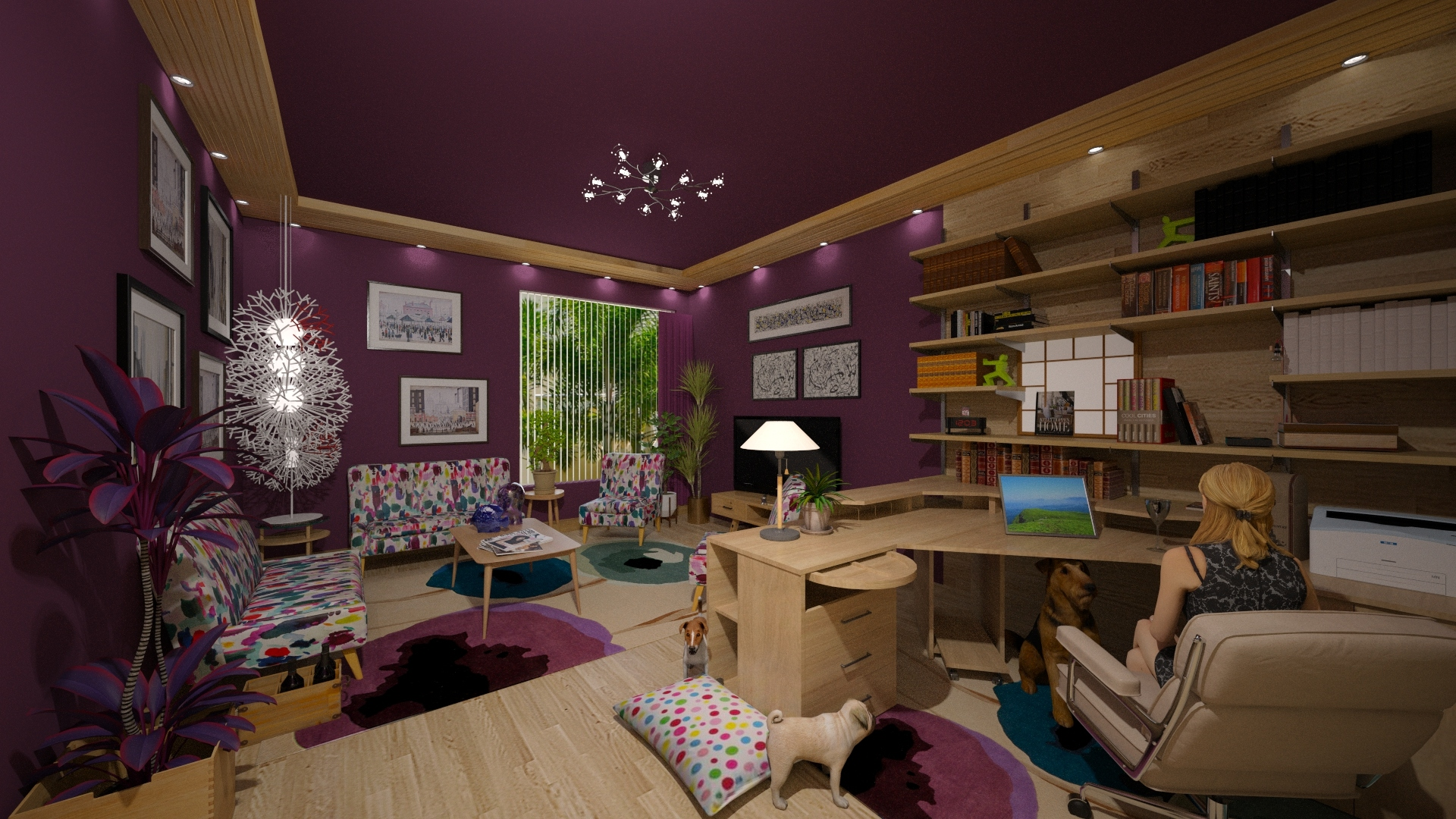 Home Office For Kelly By Lackew