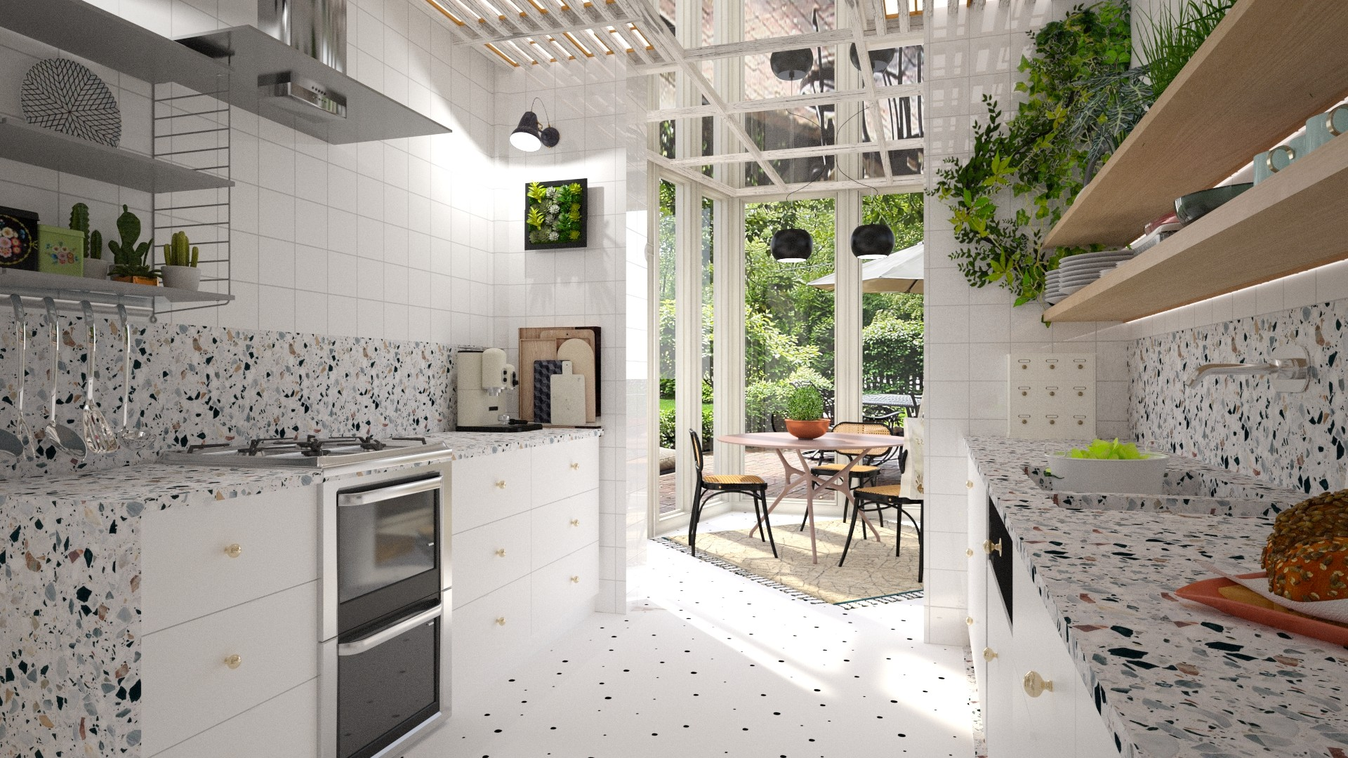 Kitchen Conservatory Combination contest on Roomstyler
