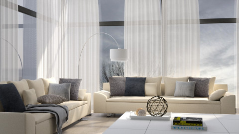 Liminal Grey - Modern - Living room - by Homepolish