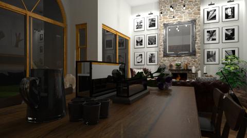 Urban Barn Conversion - Rustic - Living room - by rachelalicebradley