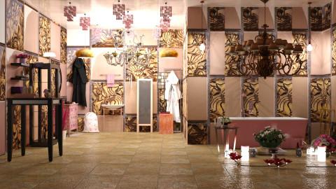 Rose Gold Bath - Modern - Bathroom - by InteriorDesigner111