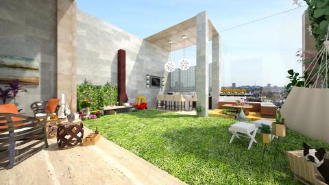 terrace - by loritah