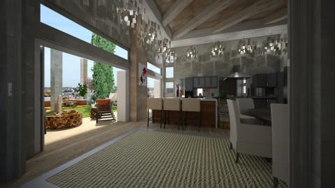 terrace inside - by loritah
