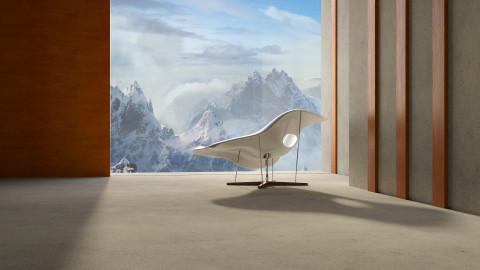 Charles Eames 1956 - Living room - by Liu Kovac