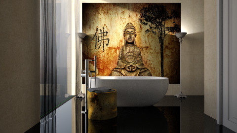 Buddha - Bathroom - by Naavarin