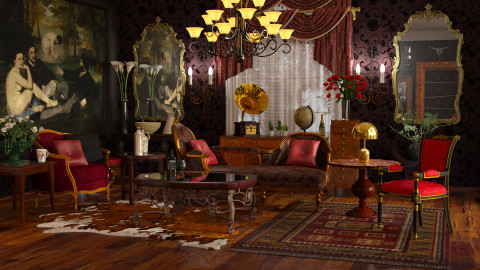 Americana West - Living room - by JeroenBekkers