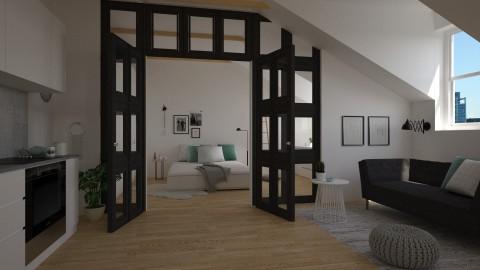 Attic Apartment - by marleinxs
