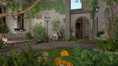 Courtyard - by MandyB84