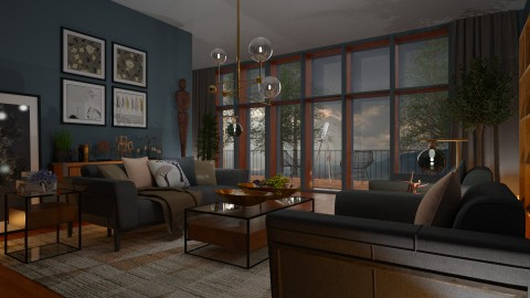 Living Room - by Ania Daliva
