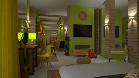 Light Human Hotel I - by JayPH