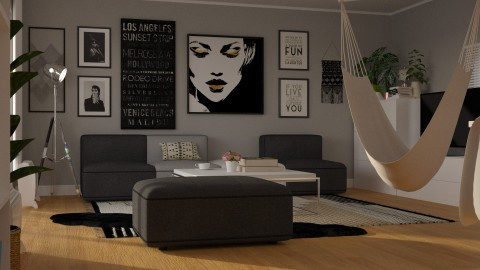 Apartment Redecor Living  - by meggle