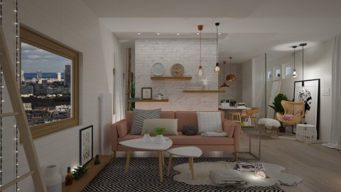 Apartment Redecoration - by paradise look