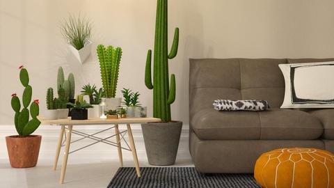 Cactus and Succulents - by DeborahArmelin