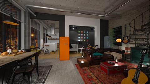 Student loft - by rossella63