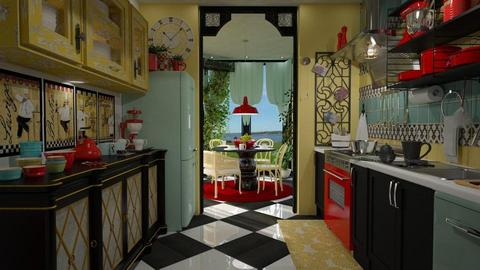 Fat Chef - Vintage - Kitchen - by starsector