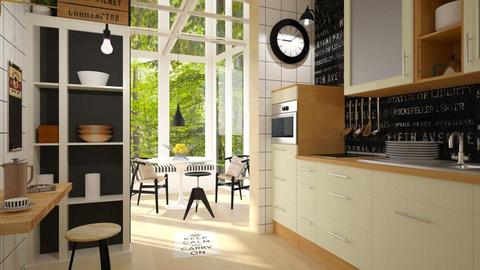 Kitchen Conservatory - by ariema