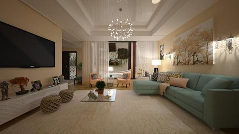 Suria - Living room - by Roberta Coelho