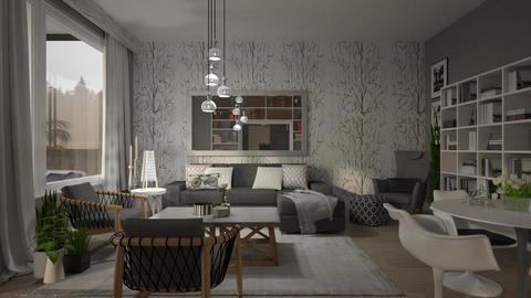Shady Grey - Modern - Living room - by janip