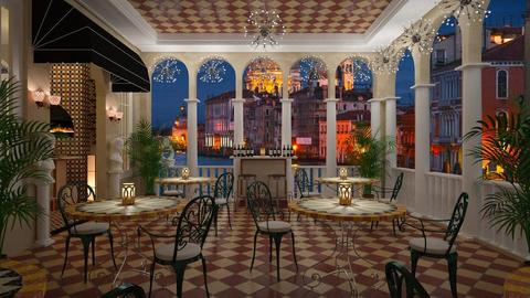 Pizzeria Venezia - Garden - by lydiaenderlebell