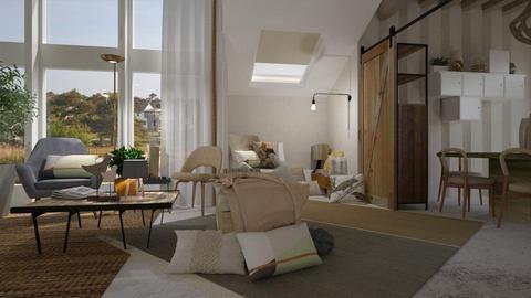 Luna - Modern - Living room - by laughterlines
