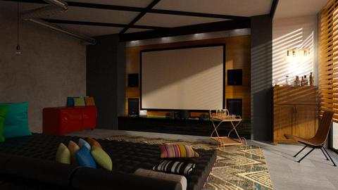 Home cinema - by Inna_Inas