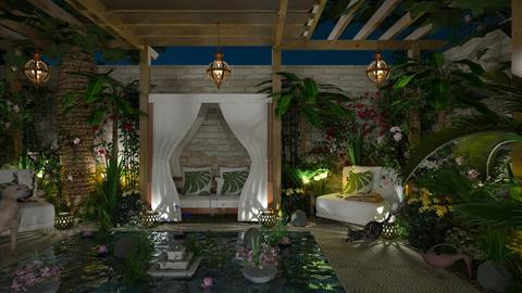 Design 380 Oasis by Night - Garden - by Daisy320