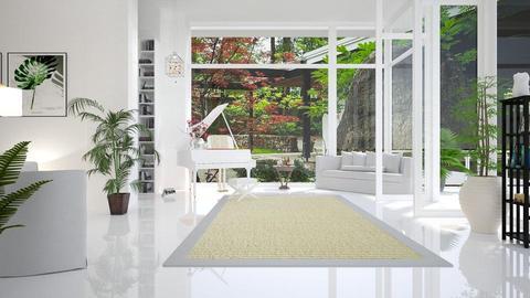 fresh living room - by barnigondi