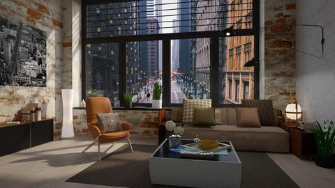 Chicago vibe - Living room - by Inna_Inas