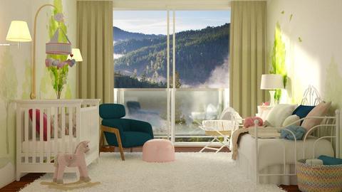Its a Girl - Kids room - by DeborahArmelin