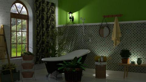Botanicals - Bathroom - by barnigondi