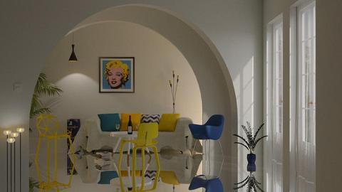 Yellow chairs - by barnigondi