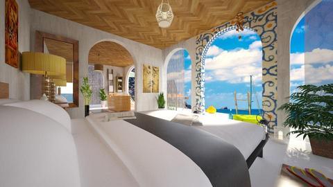 Ibiza Hotel - Bedroom - by Vanessa_D