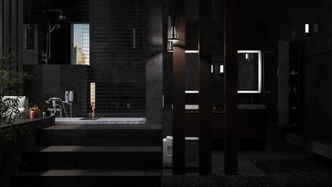 Geberit_Dark Bathroom - Bathroom - by JayPH