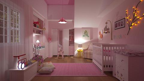 baby girl - Kids room - by Roberta Coelho