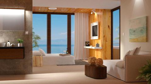 Hotel Room on Ibiza II - by DeborahArmelin