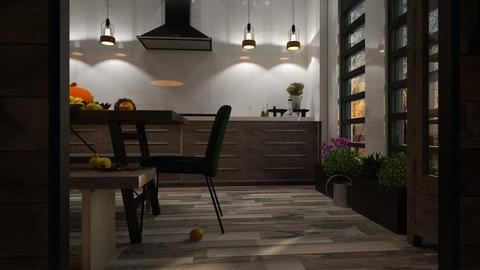 Fall - Modern - Kitchen - by evahassing