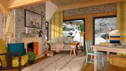 Grammas living room - Living room - by Inna_Inas
