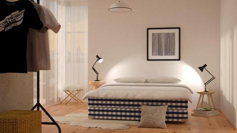 Citizen's Bedroom - Minimal - Bedroom - by DeborahArmelin
