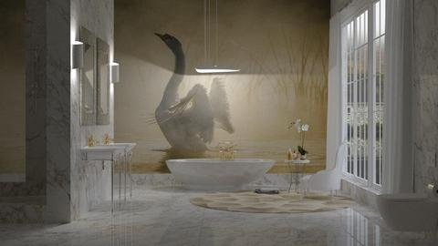 Swan Bathroom - Bathroom - by JayPH