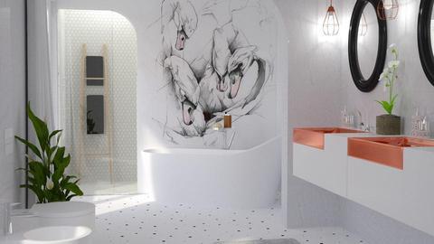 Swan Bath - by meggle