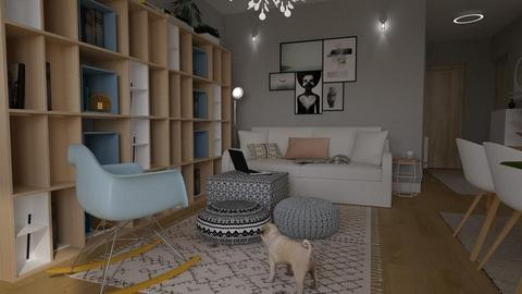 Lux Apt_living - Modern - by meggle