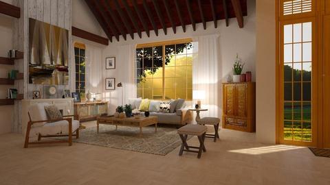 wood - Living room - by Roberta Coelho