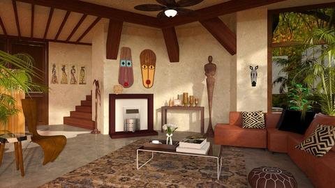Waka waka - Living room - by Inna_Inas