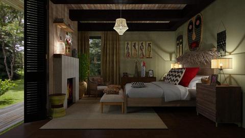 Africa - Bedroom - by Roberta Coelho
