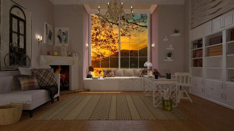 Autumn Office  - Office - by Roberta Coelho