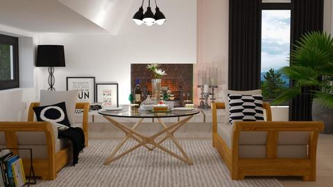 Modern Tricilinium - Living room - by meggle