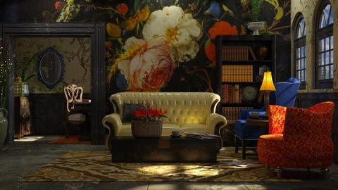 angst - Vintage - Living room - by starsector