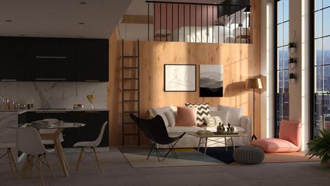Mezzanine Apt - by DeborahArmelin
