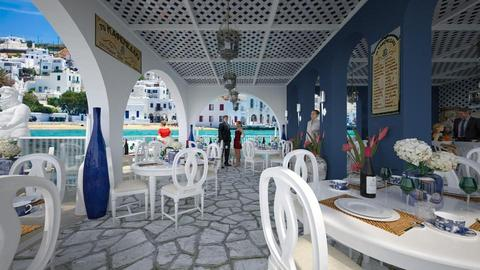 Design 387 Poseidon Seafood Cafe - Dining room - by Daisy320
