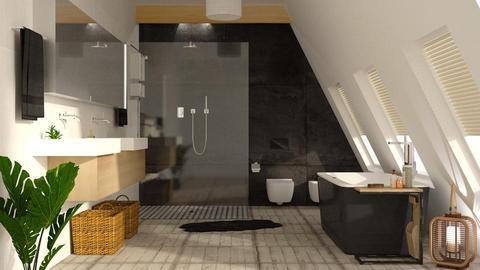 Attic Bathroom - by DeborahArmelin